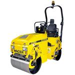 Rolo compactador WACKER mod. RD 15 motor HATZ diesel