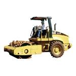 Rolo compactador pata/liso traçado CS423E CATERPILLAR 7800Kg