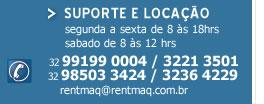 Suporte e Locação de equipamentos leves e pesados | 32 3221 3501 - 32 3236 4229